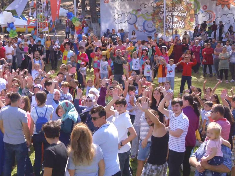 Borçelik Pikniği 4500 Kişinin Katılımıyla Gerçekleşti
