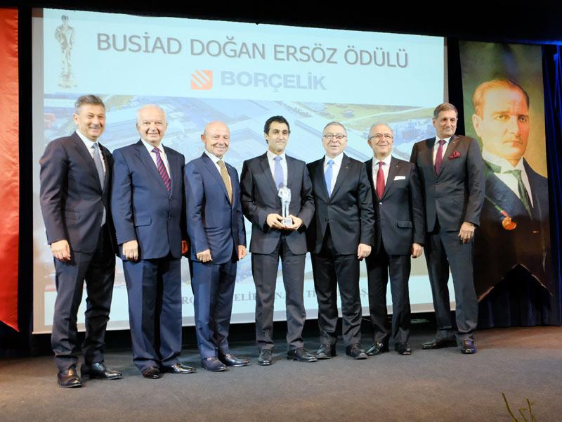 BUSİAD Doğan Ersöz Ödülü Borçelik'e