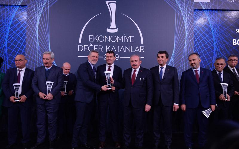 Ekonomiye Değer Katanlar Ödül Töreni'nden İki Ödülle Ayrıldık!